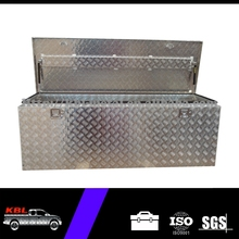 Waterproof Aluminum Pickup Truck Parts For Utes Tool Box with rubber seal/gas struts(DAL1230)(OEM/ODM)