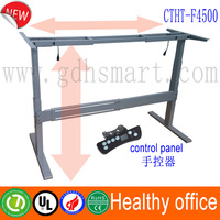 Height adjustable desk that can range in height up to a maximum of 180cm &motorized adjustable height table legs &Go up and down