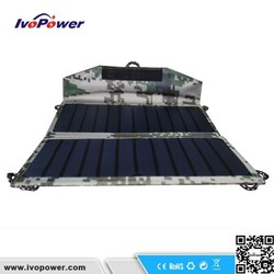 High quality waterproof solar charger, monocrystalline portable solar panel charger, hot sale reusable solar panel price india