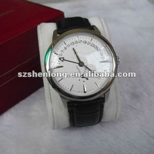 new custom leather quartz watch in 2012