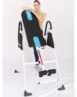 steel gravity inversion table back therapy exercise inversion table with feet safety device