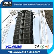 VT4888 line array/3-way line array speaker/passive line array system