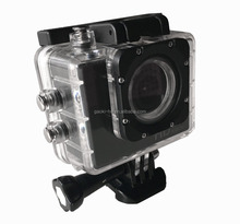 Silver / Gray Color and MicroSD / TF Memory Card Type mini hd extreme sports camera 1080p with Time Lapse
