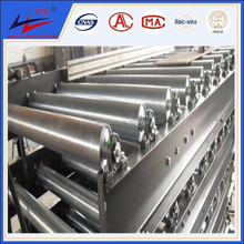 Top quality Belt Conveyor Idler Roller, Industrial Steel Roller, Trough Roller for material handling