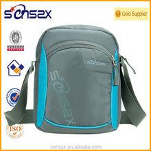 waterproof long strap shoulder bag nylon messenger bag for girls