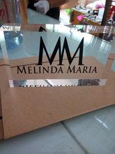 high quality acrylic brand logo block plaque
