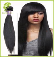 1B Natural Black Peruvian Virgin Hair, Grade 100% Human Weaving Virgin Peruvian Hair