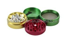 high quality Dry Herb Grinder & Container Easy to Use 4-Part Grinder for Dry Herb