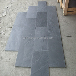 black color rough slate tile in competitive price