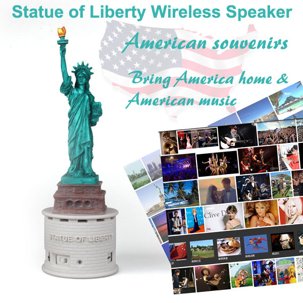 Statue of Liberty Wireless speaker (4).jpg
