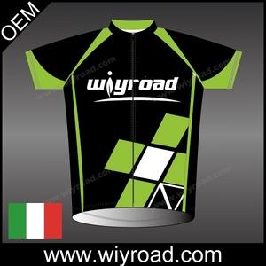 Accettare oem Jersey di riciclaggio a basso costo, il pullover di riciclaggio per la squadra, il 2015 progettazione ciclismo mig