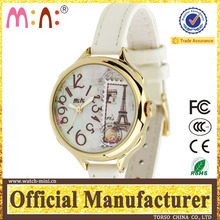 Korea mini brand stamp wrist ring watch for Lady digital blood glucose watch