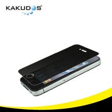 Cell Phone 2.5D Privacy Toughed Glass screen protector for iphone 5