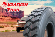 mini vehicle tires 12.00R20 Y866 Y868 Y878 for bad road to Isreal