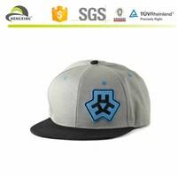 2015 embroidery leather snapback flat brim baseball hat urban headwear