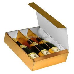 Hot selling paper wine box with low profit