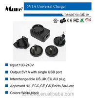 5V1A USB Charger tablet mobile phone travel Charger