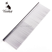 Yangzhou yingte pet products metal stainless steel pet grooming comb