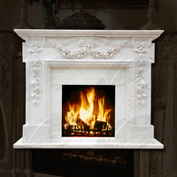Decorative Antique Electric Fireplace for Indoor Decoration (customized service is available)