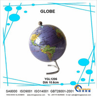 hot sales ! good quality earth globe for teaching or desk &home decoration or birthday gifts souvenir YGL1206