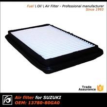 Oem 13780-80GA0 caminhão alta qualidade filtro de ar para SUZUKI
