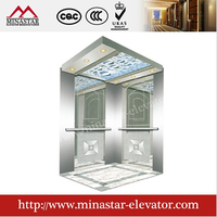 cheap good quality lifts and elevators|hairline etching residental passenger lift type|building elevator for construction
