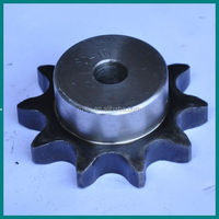 1045 stell standard industrial chain sprocket with bush for machinery from China manufacture