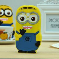 Cute Cartoon Despicable Me For Motorola Moto G 3D Cartoon Minion Silicone Case