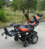 New design multifunctional luxury and comfortable power recling standing wheelchair/stand up wheelchair