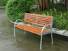 FW27 Back and Seat Split Bench Outdoor Woodwork Product