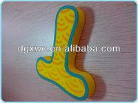 High quality colorful eva foam letter for children