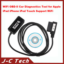 2015 high recommend for WiFi OBD-II Car Diagnostics Tool for Apple iPad iPhone iPod Touch Support WiFi