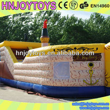 Pirate Ship Inflatable Items for Kids Playground Used