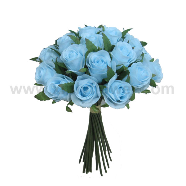 mariage fleur bleue bouquet de roses. Black Bedroom Furniture Sets. Home Design Ideas
