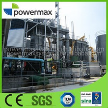 palm fronds waste to energy biomass gasification gas genset