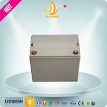 2015 hot sale 12v 100ah deep cycle battery High quality low price