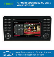 """Finenav 7"""" Touch Screen Car GPS Navigation For Benz W164 X164 With GPS A8 Chipset 3G WiFi Radio Bluetooth iPod 1G CPU Free Map"""