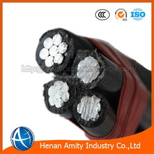 aluminum conductor XLPE insulated abc electric cable price