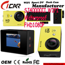 CE FCC RoHS NTK96655 + AR0330 solution 1080P FHD WIFI MINI Action Camera