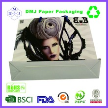 low price high quality luxury colorful shopping wax coated paper bags