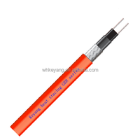 self-regulating heating cable for solar energy pipe