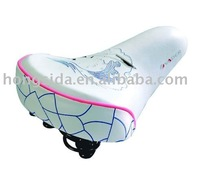 colored child bike seat with fashionable design