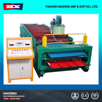 Double Deck Profile Metal Roofing Sheet Making Machine For Sale