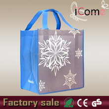 Square bottom reusable durable shopping bags(ITEM NO:N150393)