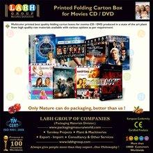 High Strength Mono Carton for Movies CD & DVD