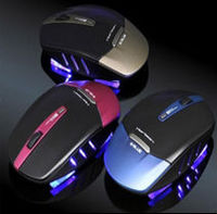 Cool dazzling charm gaming wireless mouse air mouse cordless mouse for desktop and laptop use, provided for convenience.