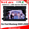 Wecaro WC-FU7302 Android 4.4.4 car dvd 1024*600 for ford mustang navigation 2005 - 2009 bluetooth