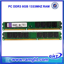 Branded export surplus 8gb ddr3 ram for desktop computer