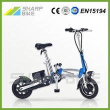 "Hot! 2015 Light mini electric bike Made in China 12"" 36V 9Ah 250W with CE & EN15194"