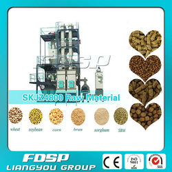 Professional Supply And Design animal feed pellet production line _Porket Ring Die Small Feed Mill Plant